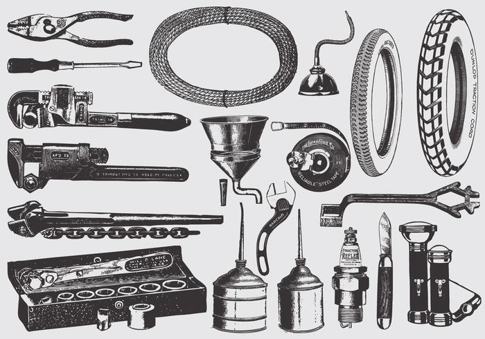 700x490 Vintage Mechanic Tools