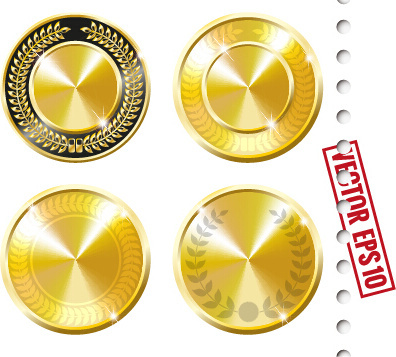 396x357 Free Vector Gold Medal Free Vector Download (2,532 Free Vector