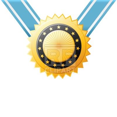 400x400 Golden Medal Vector Image Vector Artwork Of Signs, Symbols, Maps
