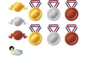 286x200 Medal Free Vector Art