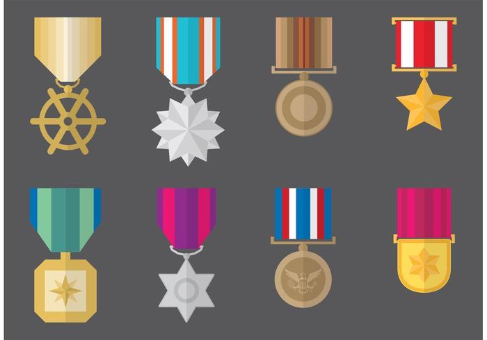 700x490 Military Medal Vectors