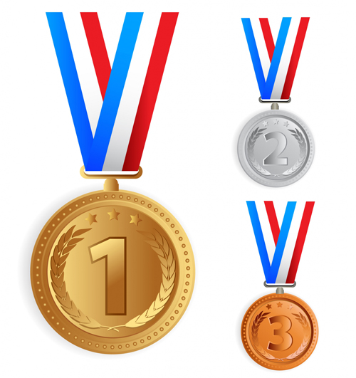 500x531 Olympic Medals Vector Ai, Eps Format Free Vector Download