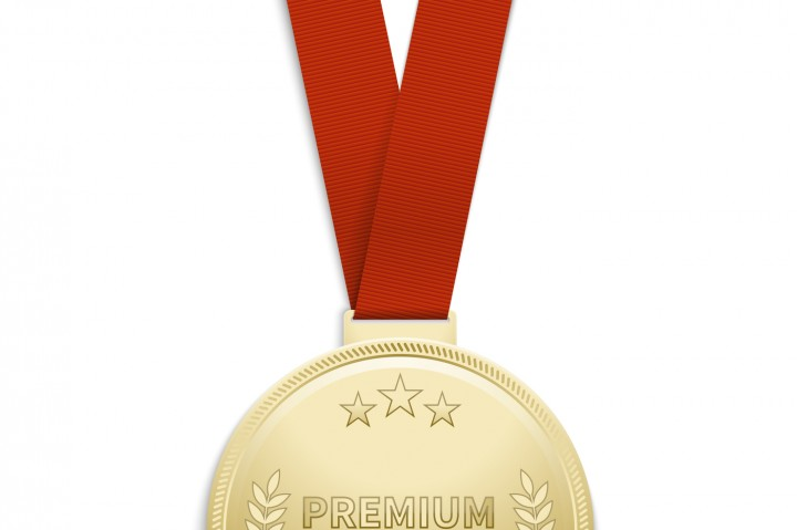 720x479 Premium Quality Gold Medal Vector Illustration By Microvector