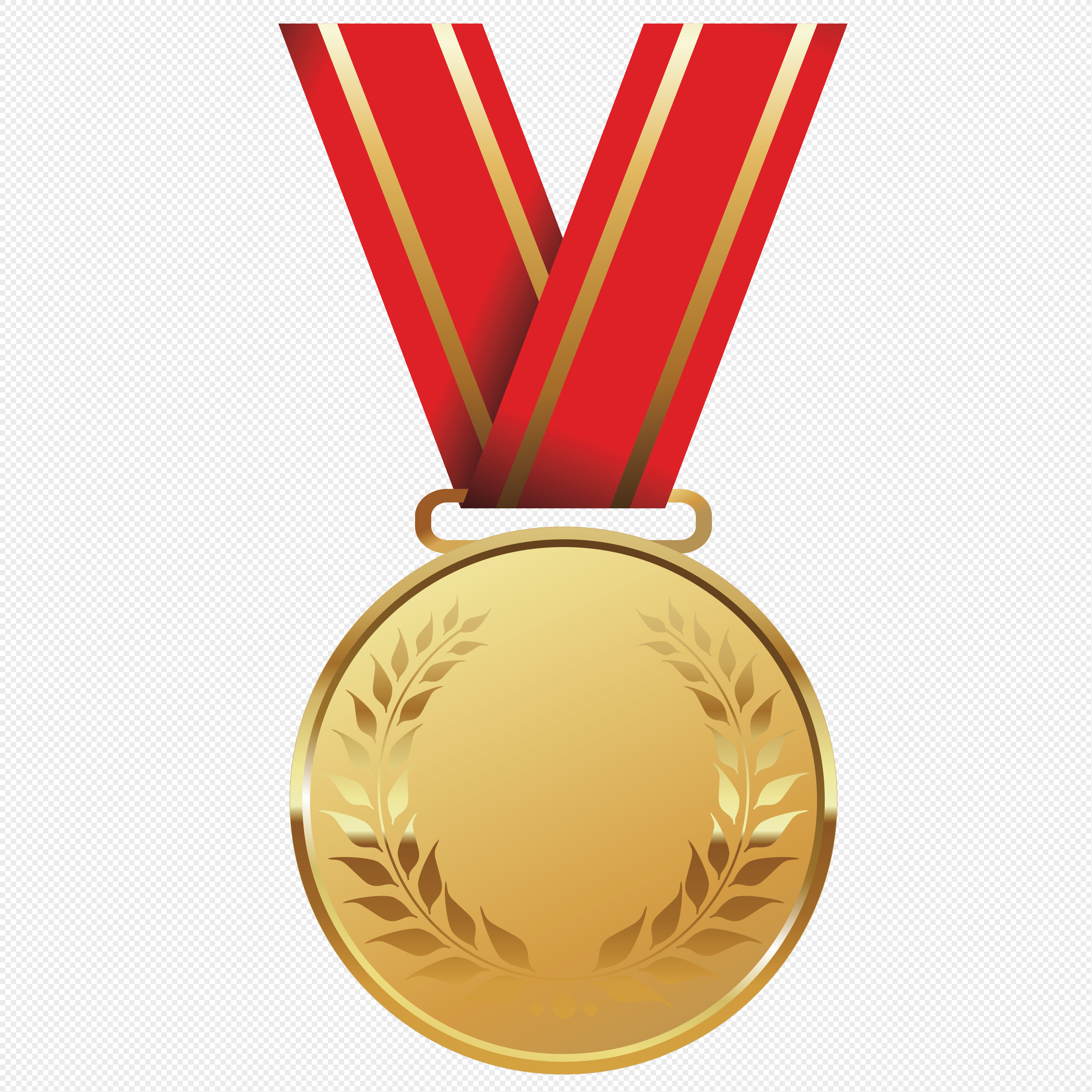 4062x4062 Champion Medals Vector Material Png Image Picture Free Download