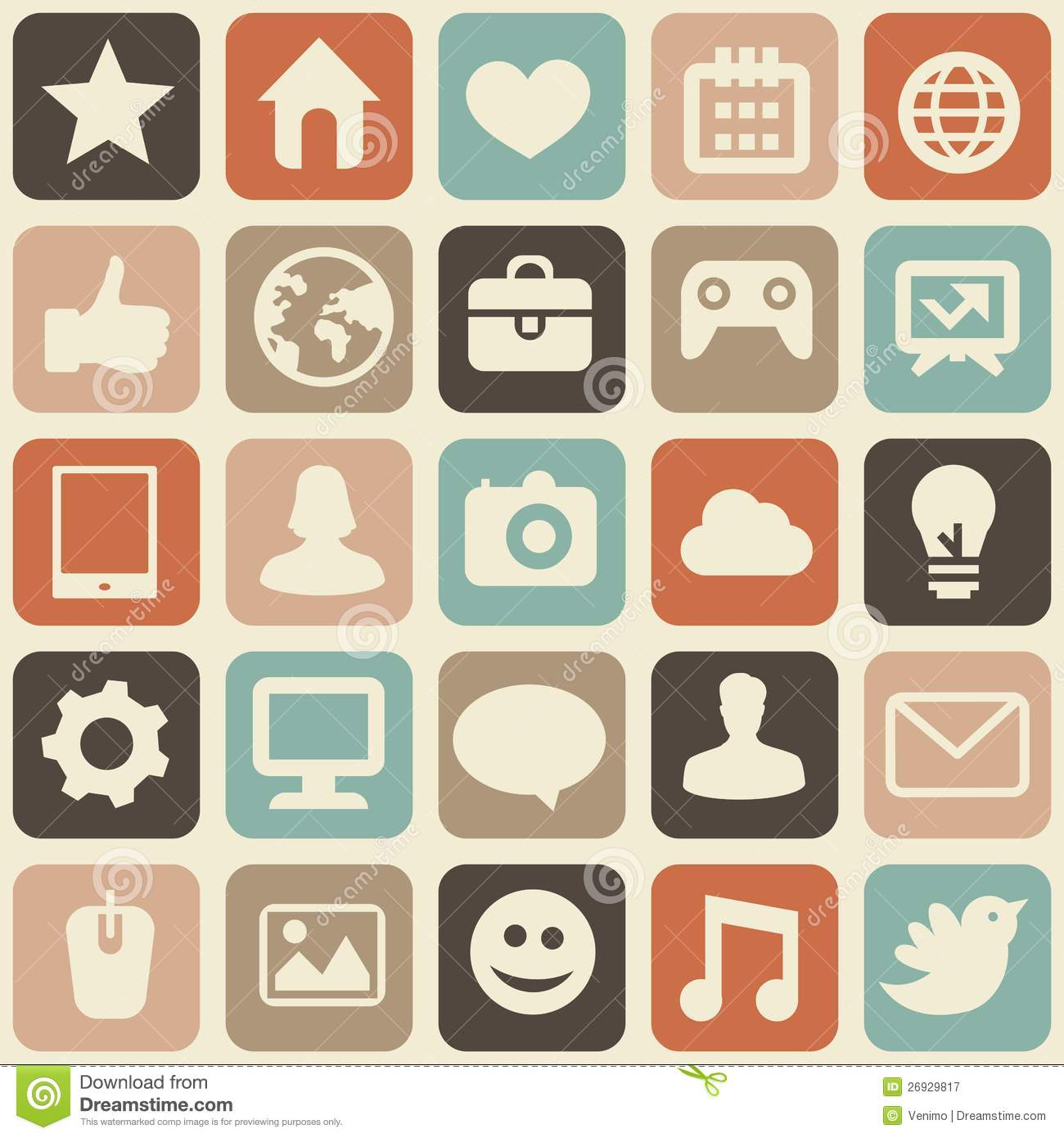 1300x1390 Social Media Logo Picture Library Stock