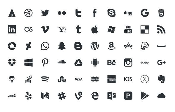 589x378 Free Social Media Icons 2018 In Psd And Vector Free