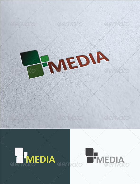 590x778 Media Logo Template By Eriond Graphicriver
