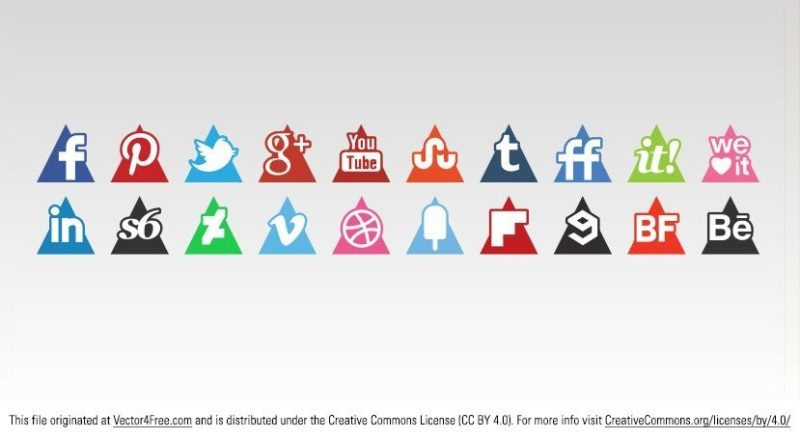 800x439 54 Beautiful [Free!] Social Media Icon Sets For Your Website