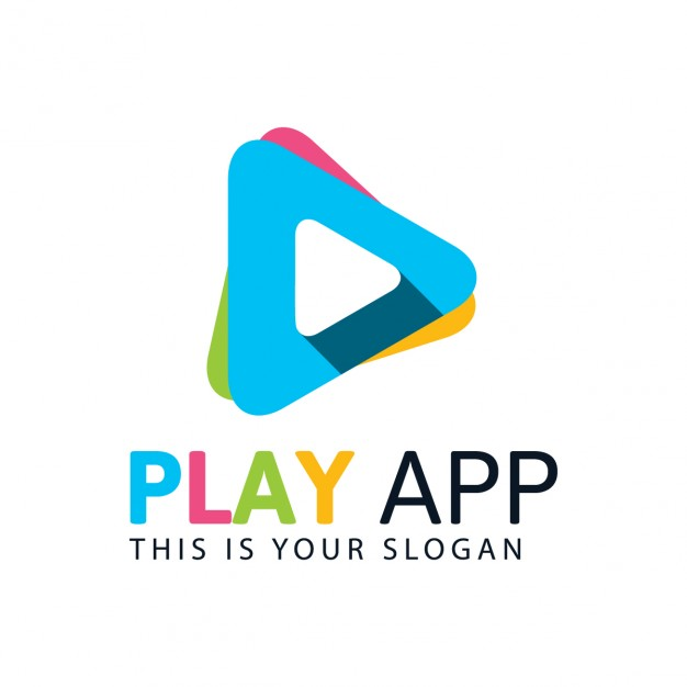 626x626 Colorful Play Logo Vector Free Download