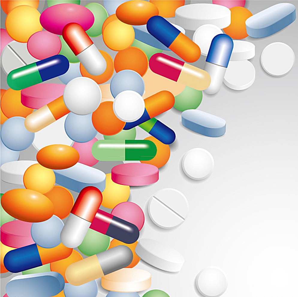994x993 Color Capsule Medical Background Vector Picture Free Download