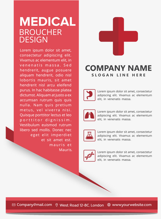 650x882 Red Medical Cross Poster, Vector Png, Medical Poster, Red Cross