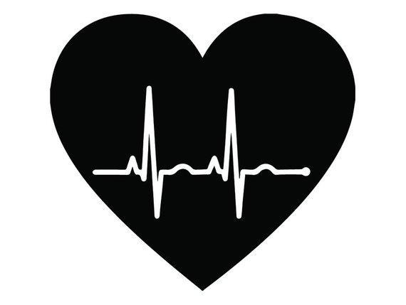 570x429 Medical Logo 20 Heart Beat Life Line Emt Emergency Medical Etsy