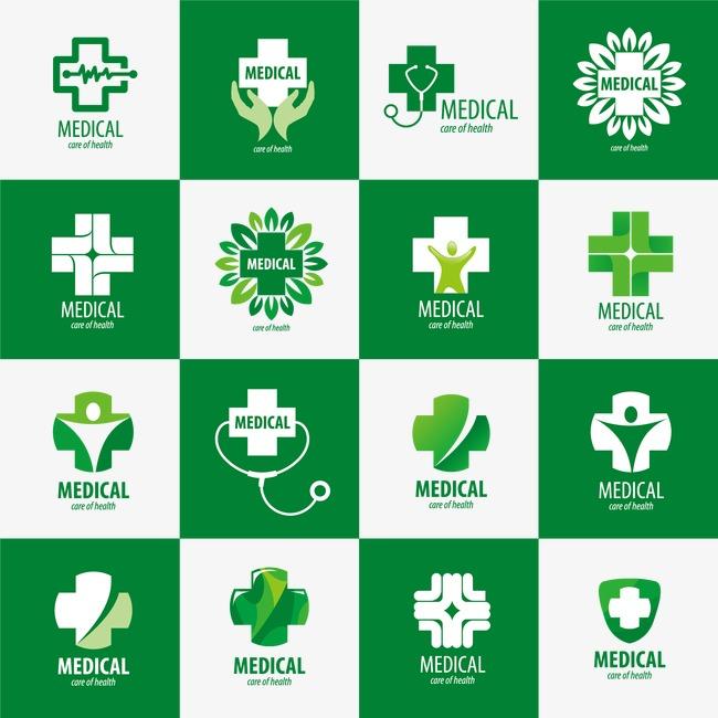 650x650 Personalized Medical Logo Vector Material, Medical Vector, Logo