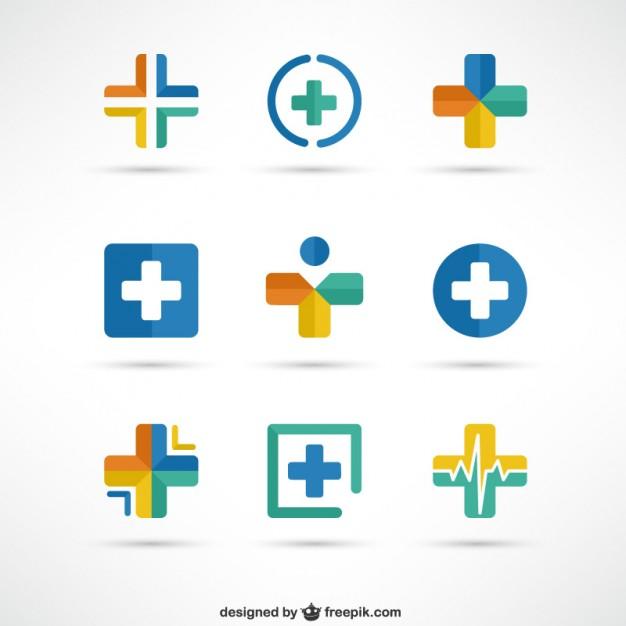 626x626 Crosses Medical Logo Templates Vector Free Download
