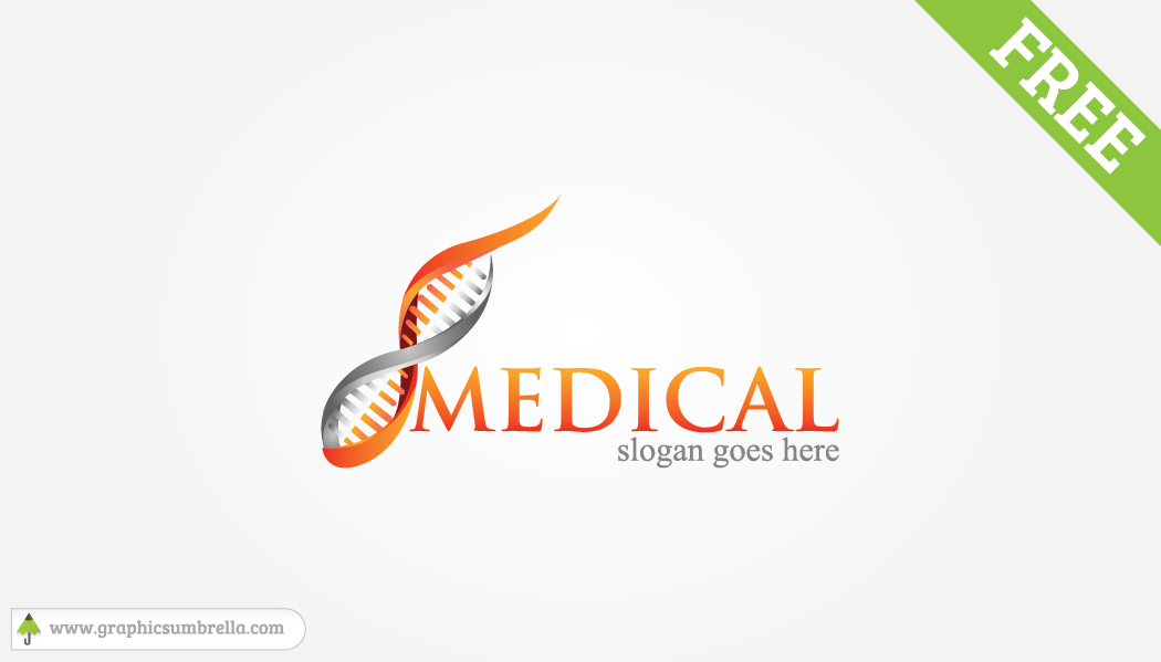 1050x599 Medical Logo Design Free Vector Download