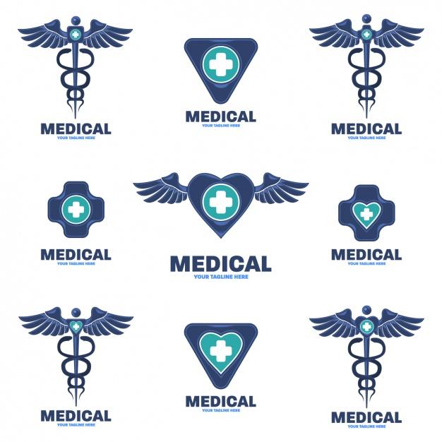 626x626 Medical Logos Medical Logos Collection Vector Free Download