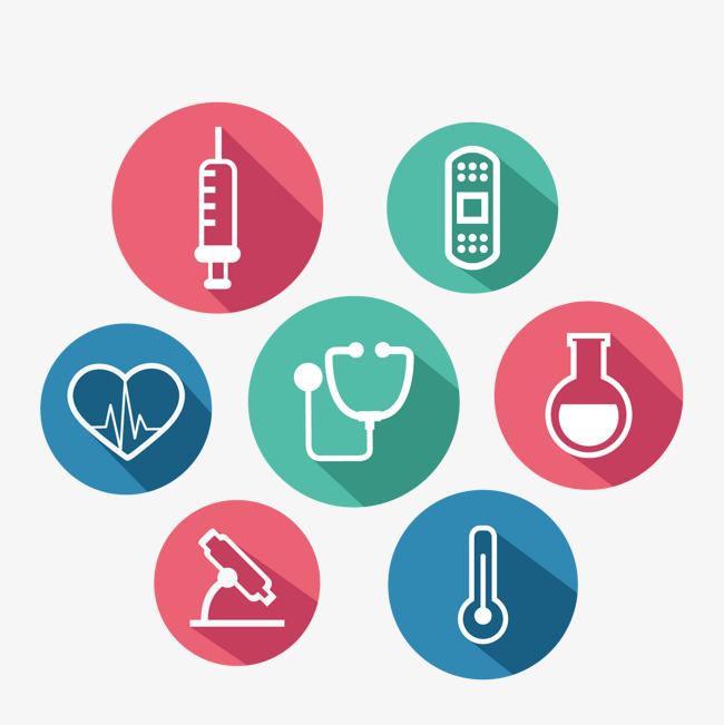 650x651 Circular Medical Logo Vector Material, Logo, Medical Logo, Medical