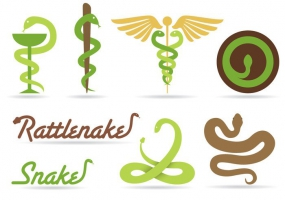 285x200 Medical Snake Free Vector Graphic Art Free Download (Found 1,997