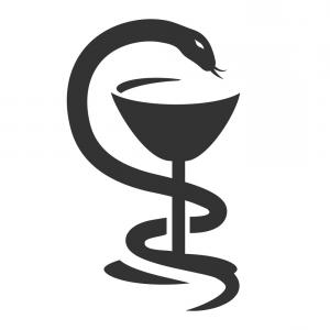 300x300 Bowl Of Hygieia Medical Symbol Serpent Vector Arenawp