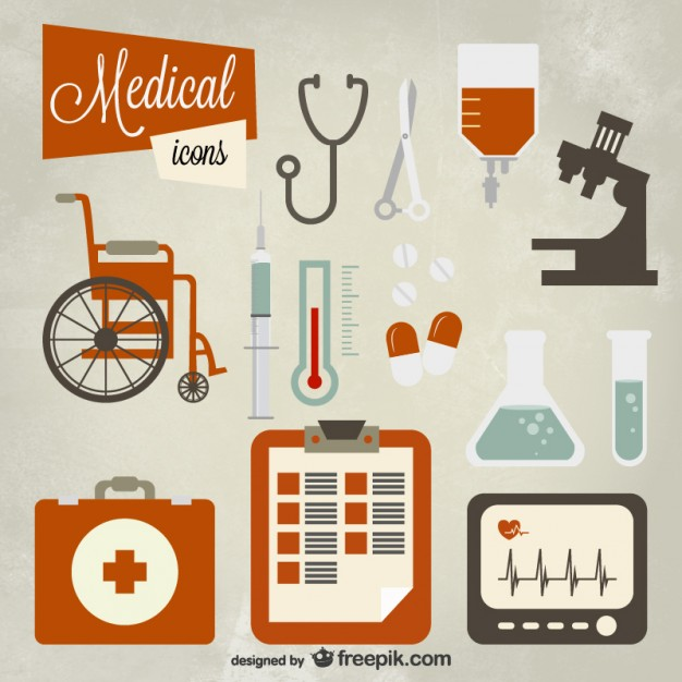 626x626 Medical Icon Set Vector Free Download