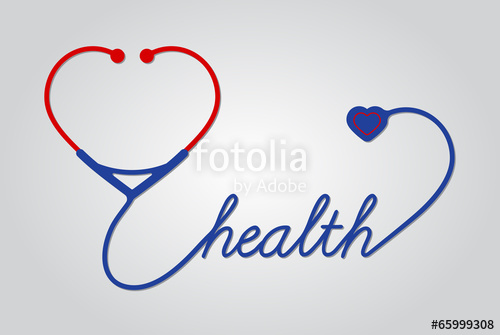 500x335 Stethoscope With Heart, Medical Symbol, Vector Stock Image And