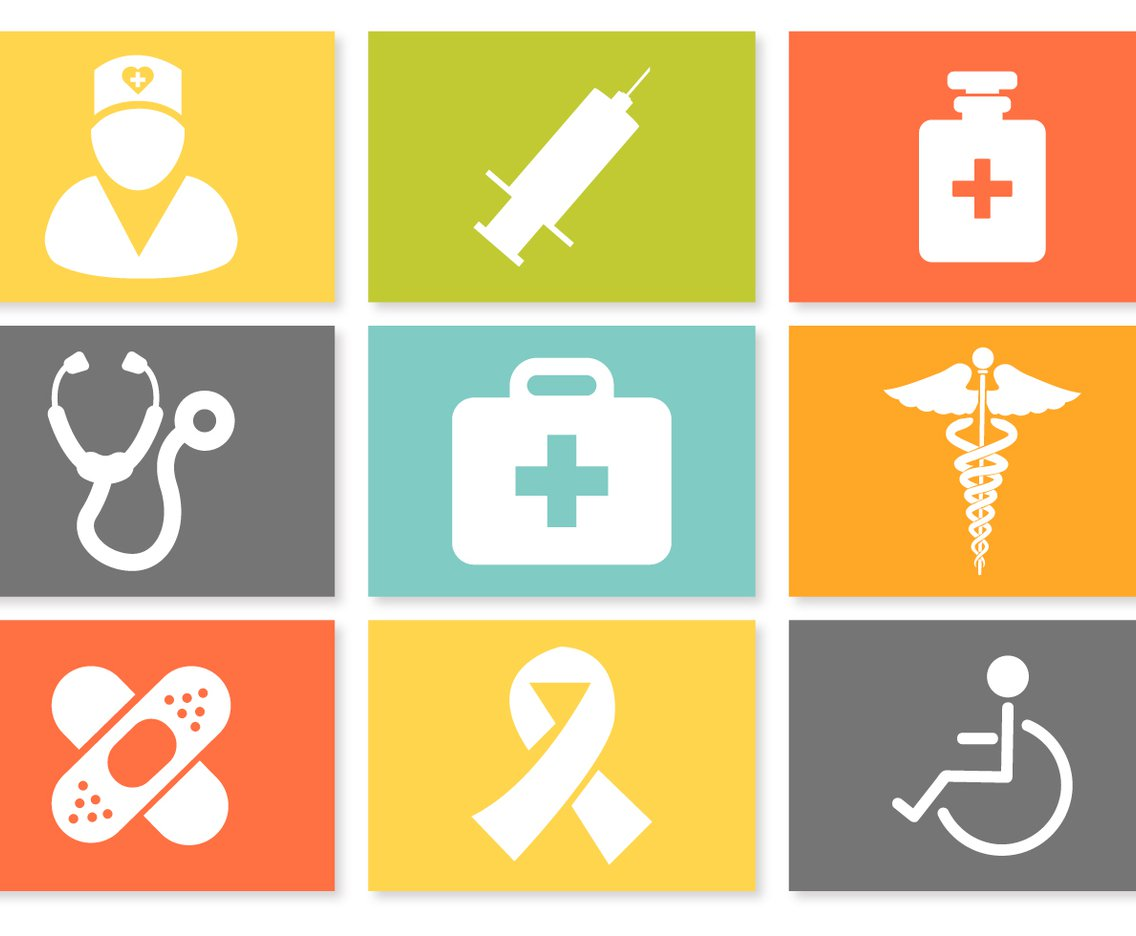 1136x936 Colorful Medical Icon Set Vector Art Amp Graphics