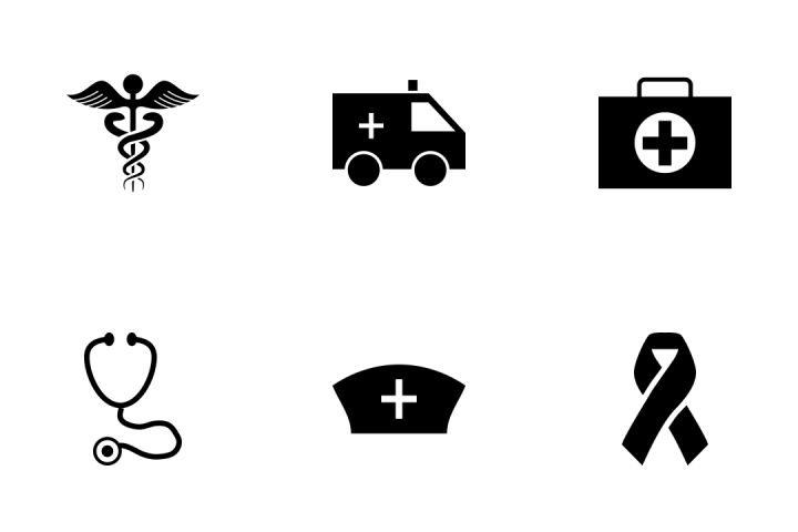 720x480 Medical Vector Icons Pack Icon Pack