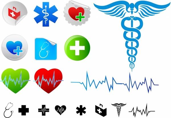 600x417 Medical Icons Free Vector In Adobe Illustrator Ai ( .ai