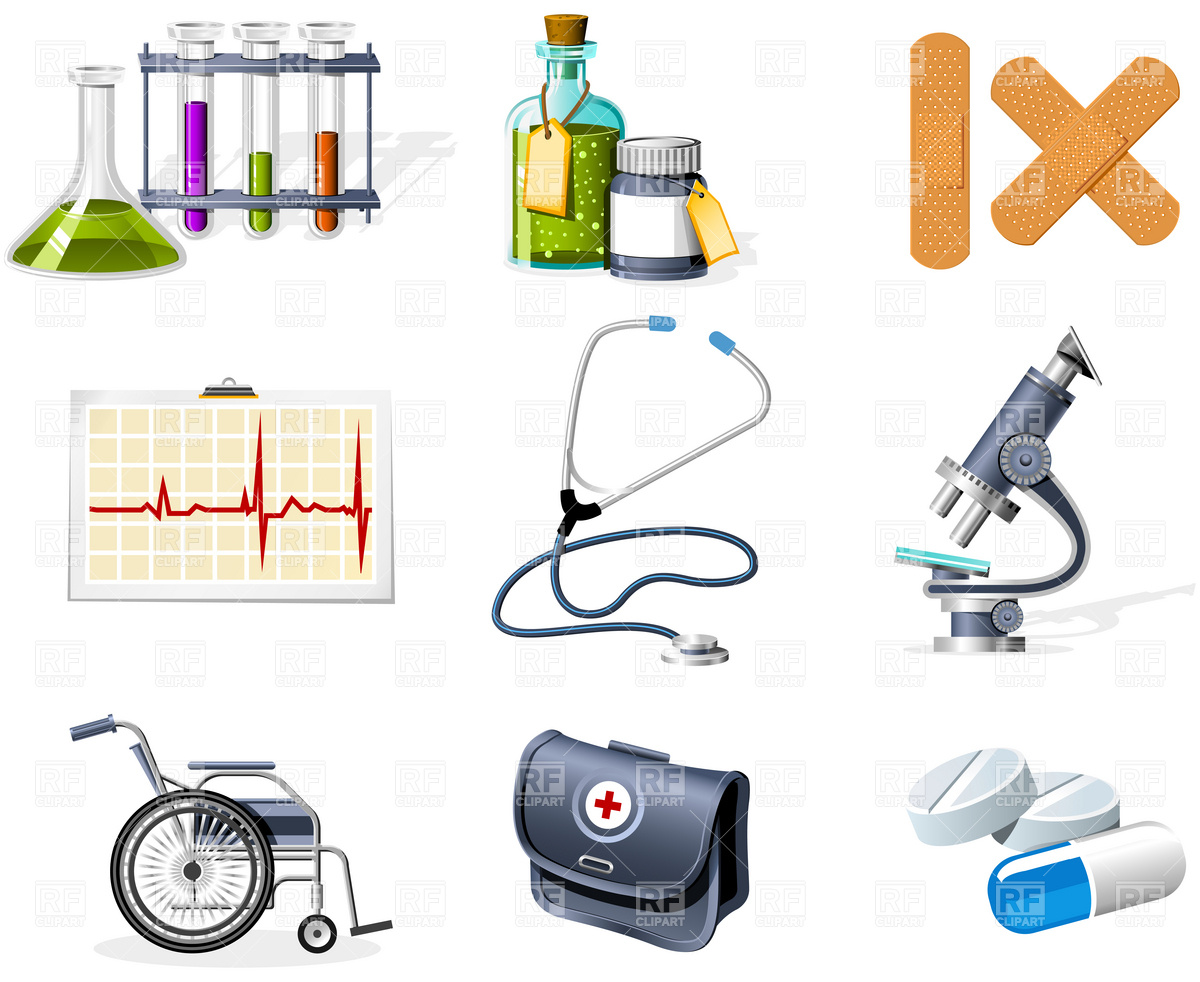 1200x982 Medicine And Healthcare Icons Vector Image Vector Artwork Of