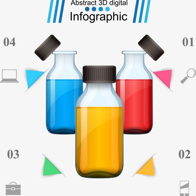 650x650 Medicine Bottles Vector Chart, Chart Vector, Medicine Bottles