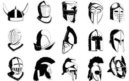 425x269 Lots Of Helmets Vector Misc Free Vector Free Download