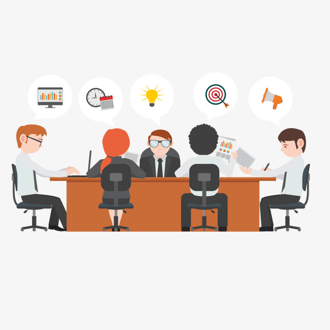 650x651 Meeting Room Meeting Vector, Meeting Room, Meeting, Business
