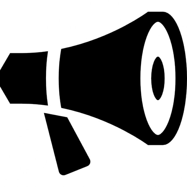 626x626 Megaphone Clipart Loudspeaker Icon ~ Frames ~ Illustrations ~ Hd