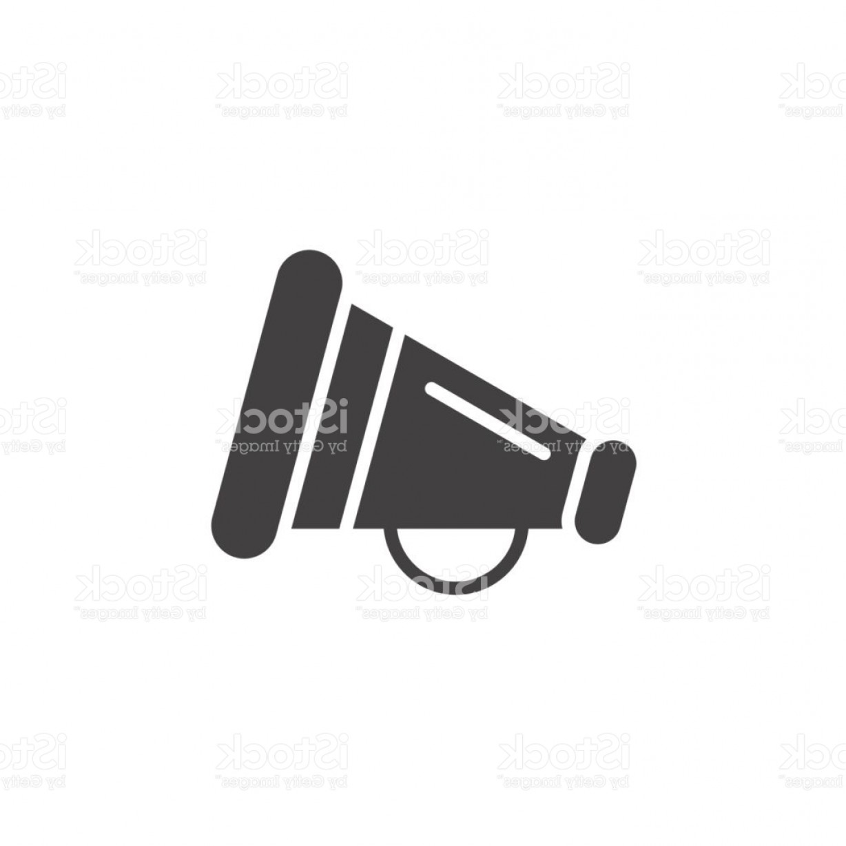 1228x1228 Promotion Symbol Megaphone Icon Vector Filled Flat Sign Solid