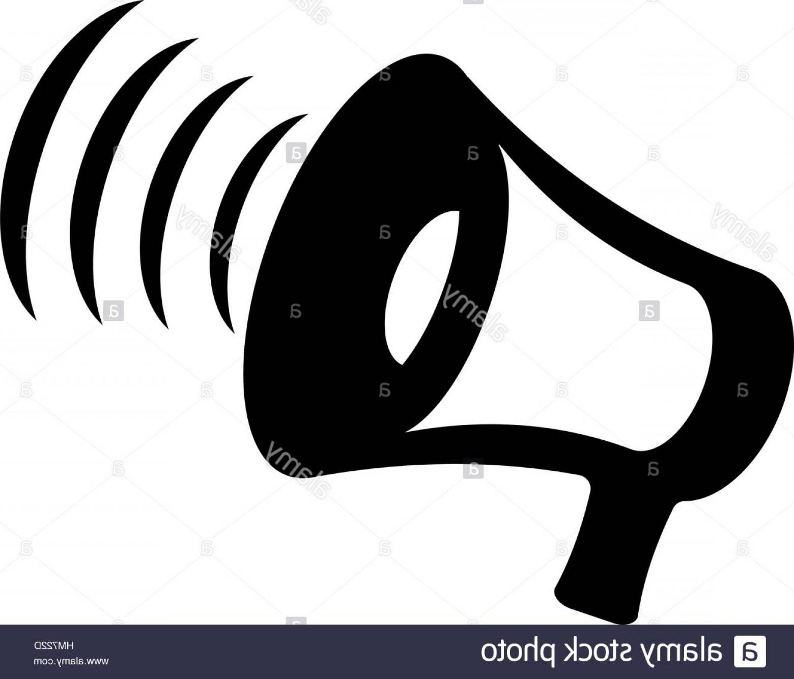 1560x1334 Stock Photo Megaphone Icon Vector Bullhorn Solid Illustration