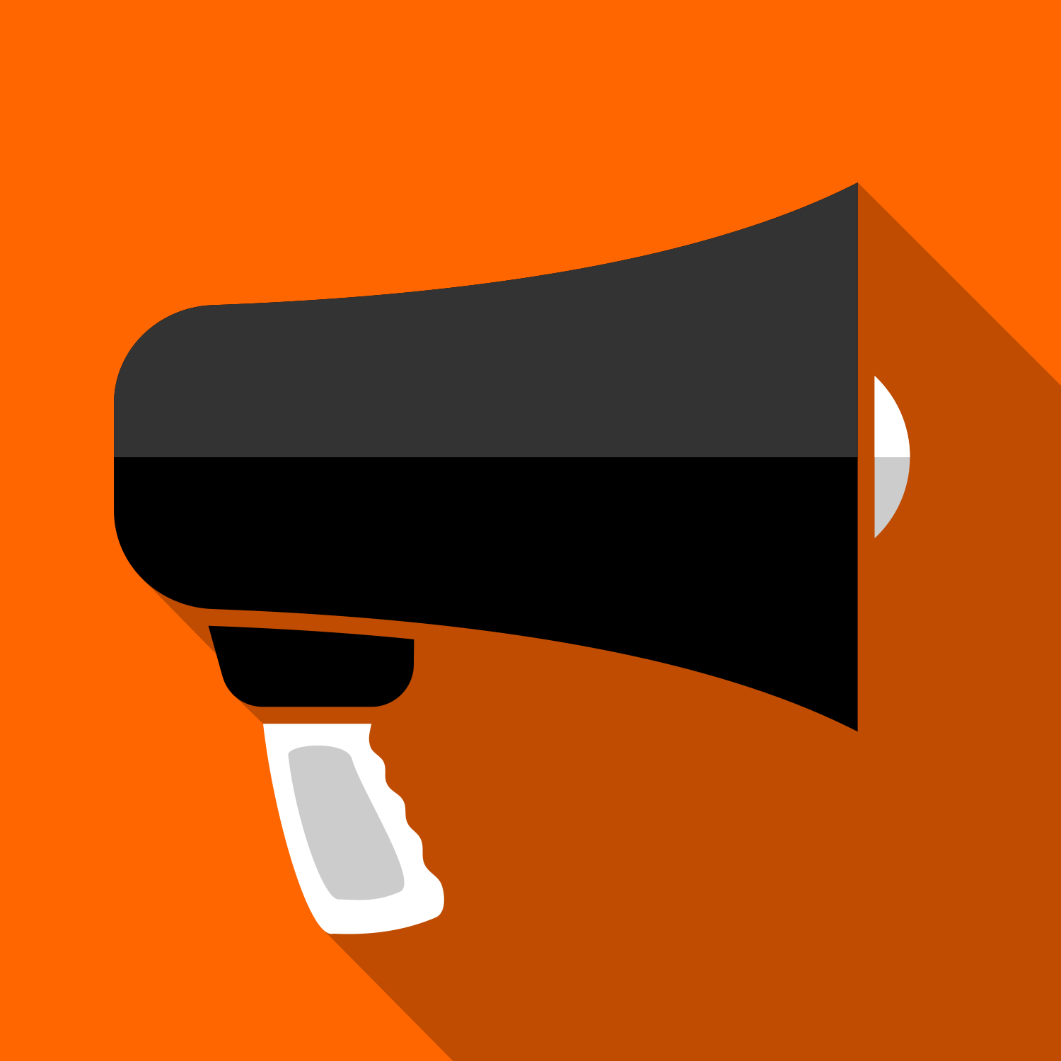 1500x1500 Vector For Free Use Megaphone Icon