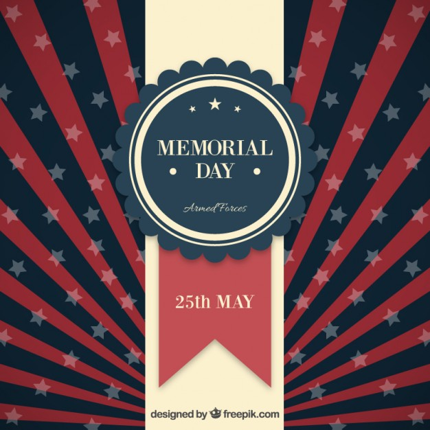 626x626 Memorial Day Background Vector Free Download