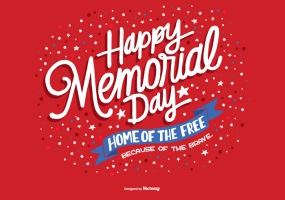 285x200 Memorial Day Free Vector Graphic Art Free Download (Found 11,405