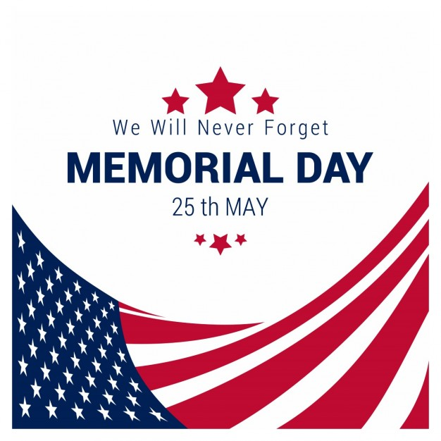 626x626 Usa Memorial Day Vector Free Download