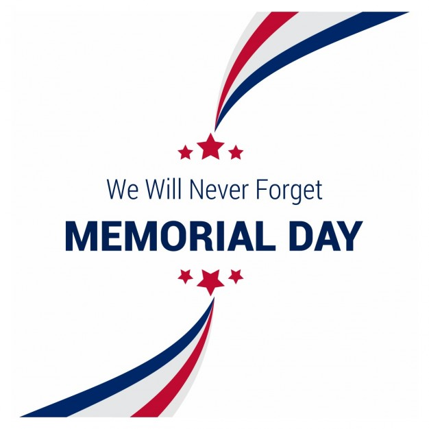 626x626 Creative Memorial Day Background Vector Free Download
