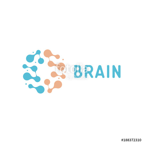 500x500 Neurons And Symapses Icon. Human Brain Connections. Neural Network