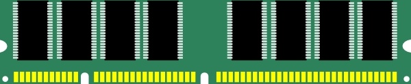 600x123 Ram Computer Memory Clip Art Free Vector In Open Office Drawing
