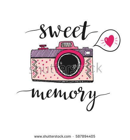 437x470 Retro Photo Camera With Stylish Lettering