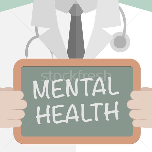 600x600 Medical Board Mental Health Vector Illustration Felix Pergande