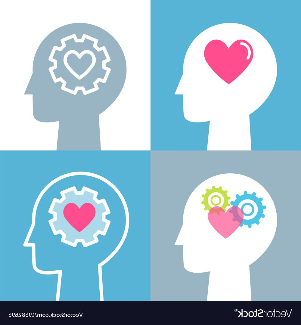 1000x1080 Best Hd Emotional Intelligence Feeling And Mental Health Vector Photos
