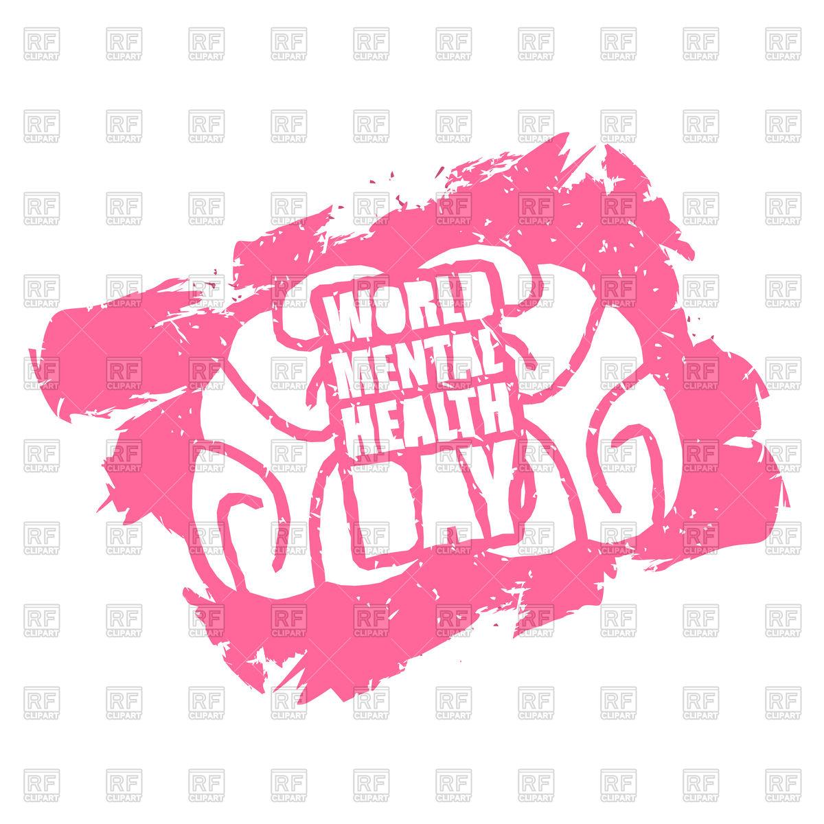 1200x1200 World Mental Health Day Emblem Vector Image Vector Artwork Of
