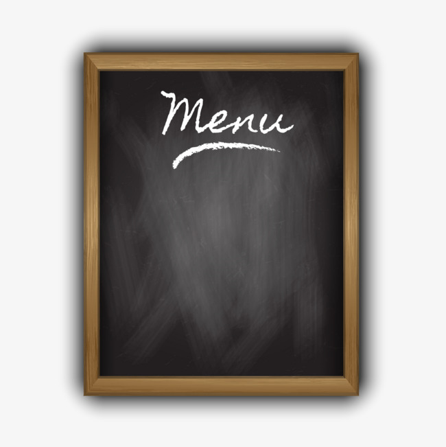 650x651 Blank Blackboard Menu Design Vector Material, Blackboard Vector