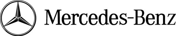 600x123 Mercedes Benz Logo Free Vector In Adobe Illustrator Ai ( .ai