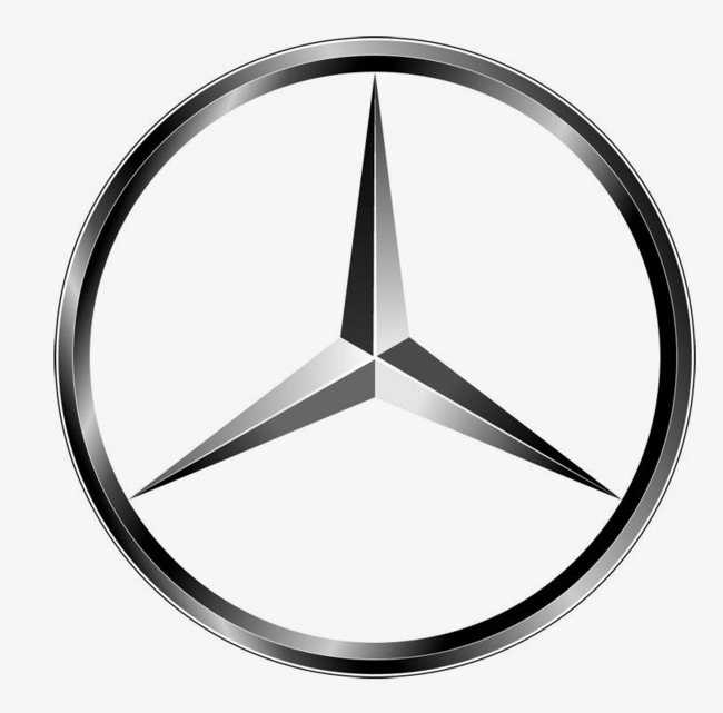 650x641 Mercedes Logo, Logo Clipart, Logo, Mercedes Benz Logo Png Image