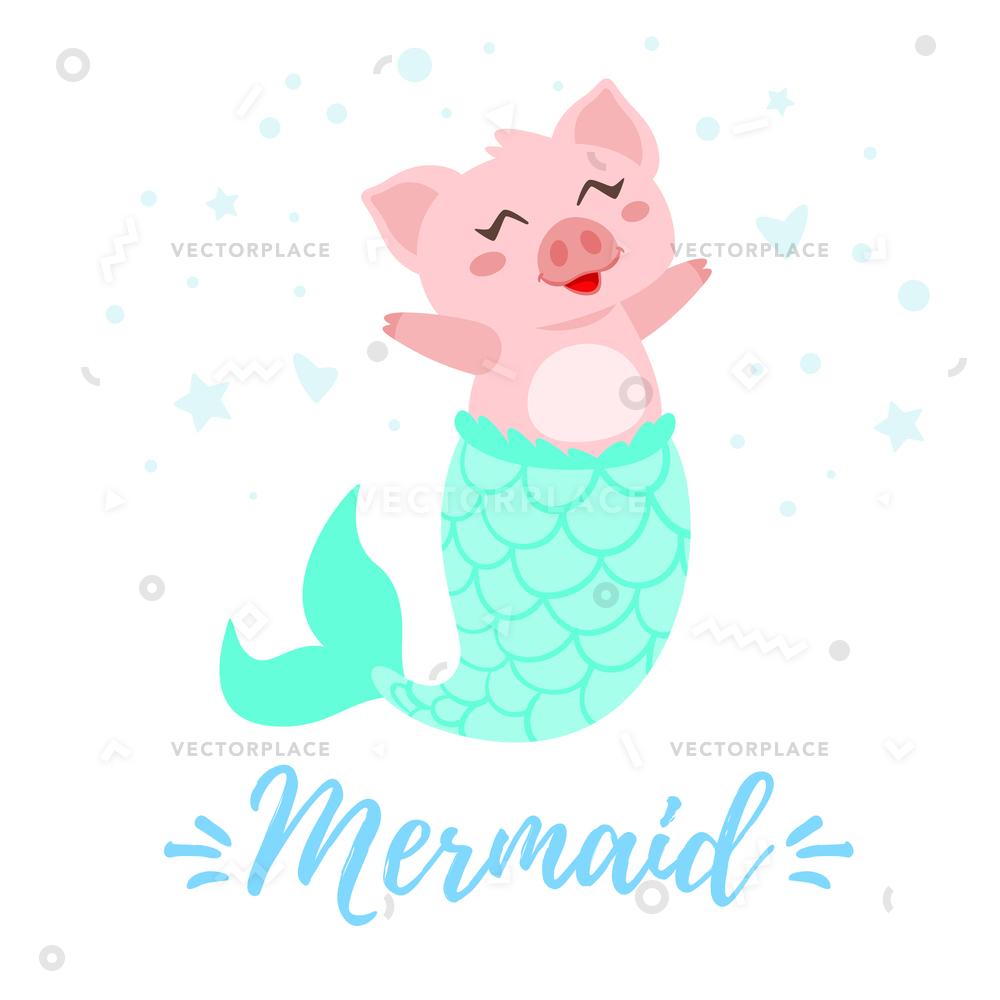 Mermaid Tail Vector